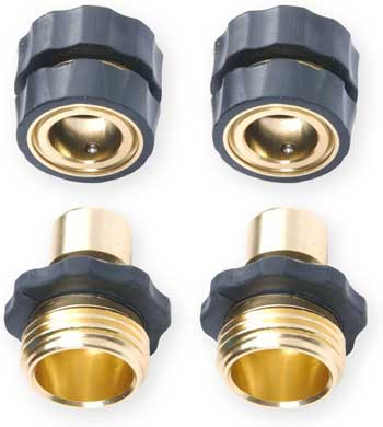quick connect garden hose fittings
