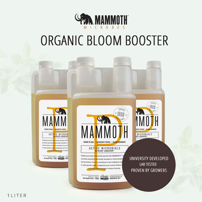 Mammoth Microbes Organic Bloom Booster