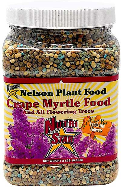 Nelson Plant Food For Crape Myrtle